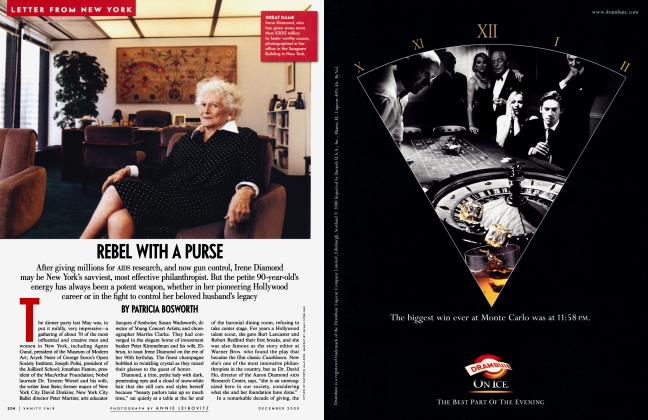 Article Preview: REBEL WITH A PURSE, December 2000 | Vanity Fair