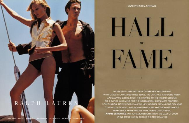 Article Preview: HALL OF FAME, December 2000 2000   Vanity Fair