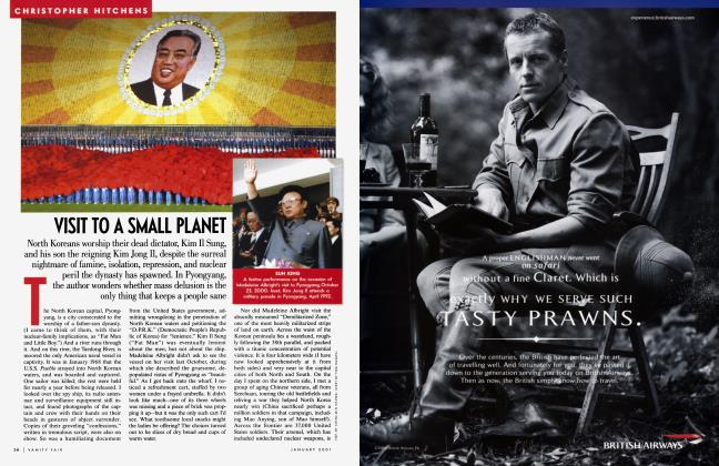 Article Preview: VISIT TO A SMALL PLANET, January 2001 2001 | Vanity Fair