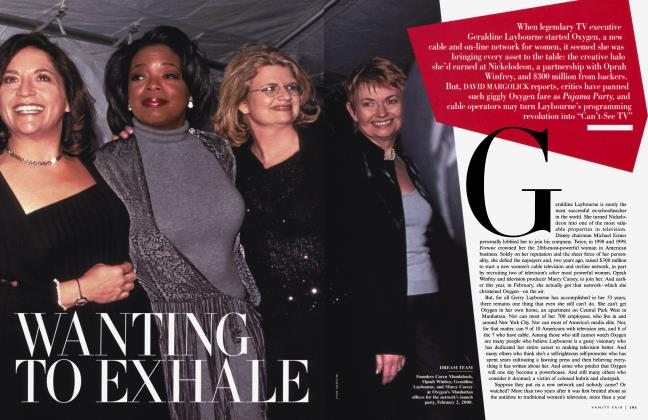 Article Preview: WANTING TO EXHALE, January 2001 2001 | Vanity Fair