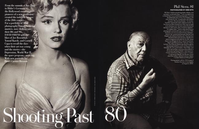 Article Preview: Shooting Past 80, January 2001 2001   Vanity Fair