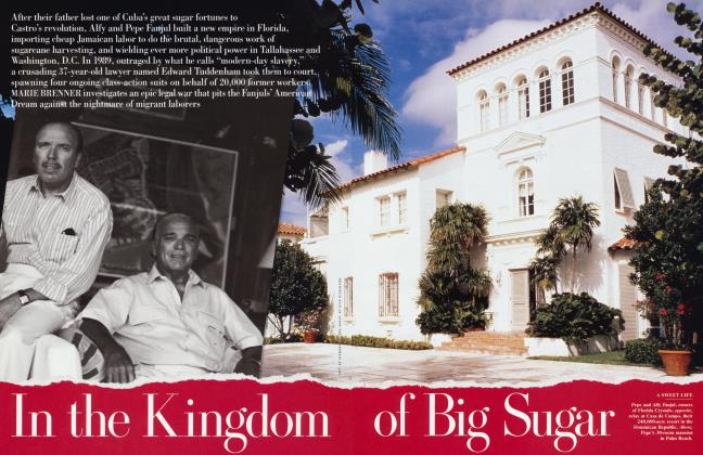 Article Preview: In the Kingdom of Big Sugar, February 2001 | Vanity Fair
