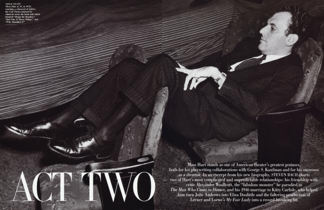 Article Preview: ACT TWO, February 2001 | Vanity Fair