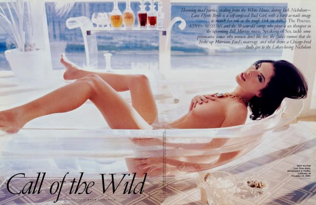 Article Preview: Call of the Wild, February 2001 2001 | Vanity Fair