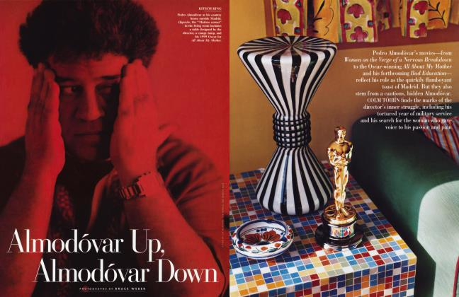 Article Preview: Almodóvar Up, Almodóvar Down, February 2001 2001 | Vanity Fair