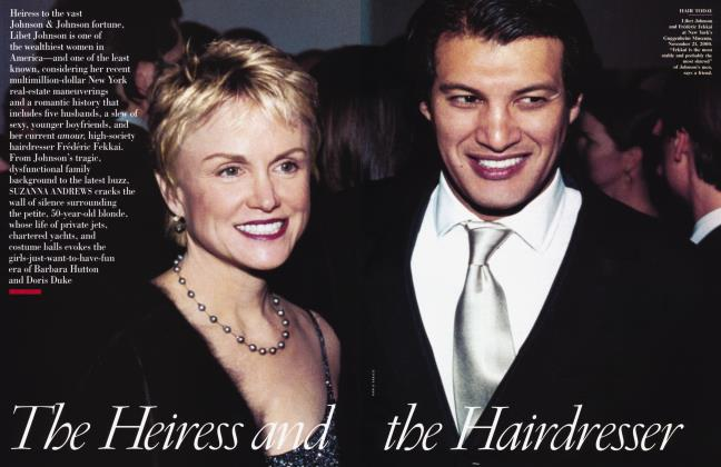 Article Preview: The Heiress and the Hairdresser, March 2001 2001 | Vanity Fair
