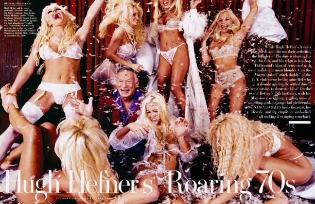 Article Preview: Hugh Hefner's Roaring 70s, March 2001 | Vanity Fair