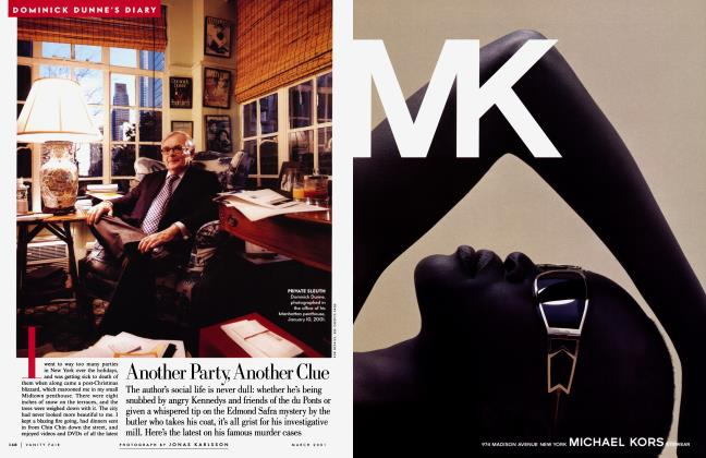 Article Preview: Another Party, Another Clue, March 2001 | Vanity Fair