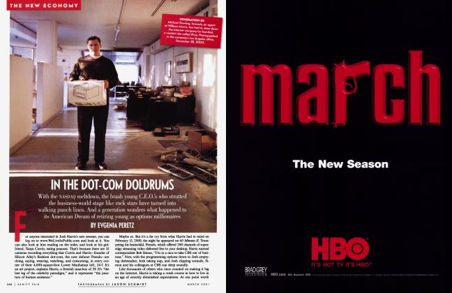 Article Preview: IN THE DOT-COM DOLDRUMS, March 2001 | Vanity Fair