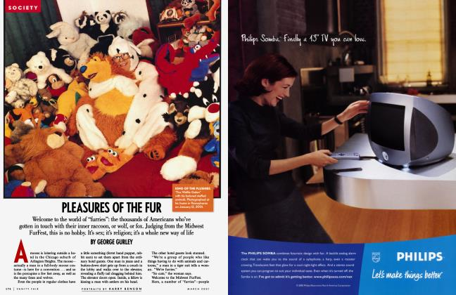 Article Preview: PLEASURES OF THE FUR, March 2001 | Vanity Fair