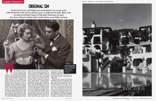 Article Preview: ORIGINAL SIN, April 2001 2001 | Vanity Fair