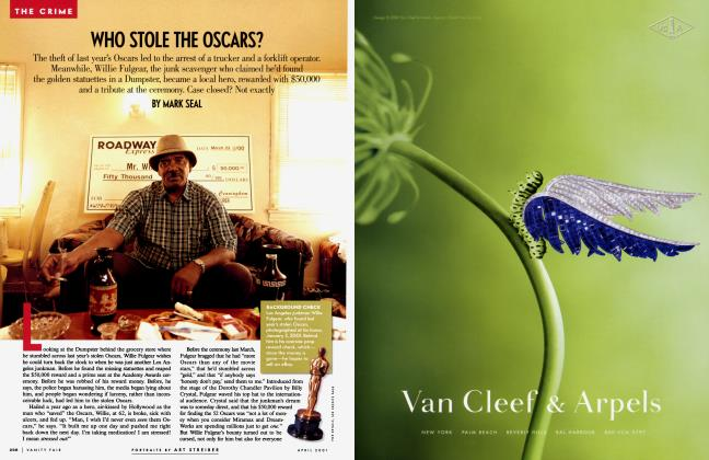 Article Preview: WHO STOLE THE OSCARS?, April 2001 2001 | Vanity Fair