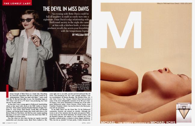 Article Preview: THE DEVIL IN MISS DAVIS, April 2001 | Vanity Fair