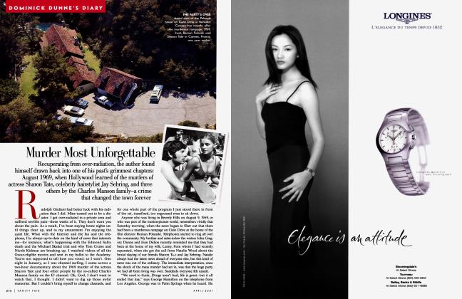 Article Preview: Murder Most Unforgettable, April 2001 2001 | Vanity Fair