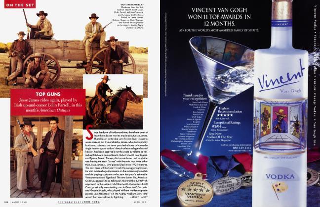 Article Preview: TOP GUNS, April 2001 2001 | Vanity Fair