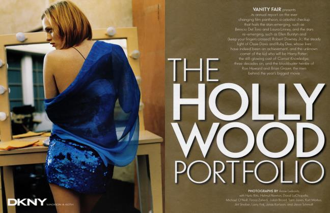 Article Preview: THE HOLLYWOOD PORTFOLIO, April 2001 | Vanity Fair