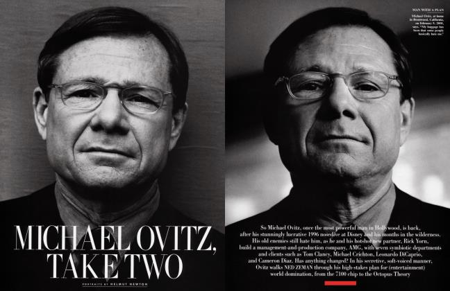 Article Preview: MICHAEL OVITZ, TAKE TWO, April 2001 | Vanity Fair
