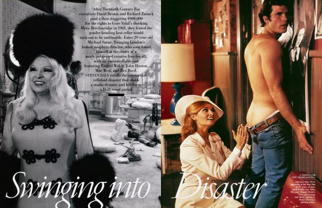 Article Preview: Swinging into Disaster, April 2001 2001 | Vanity Fair