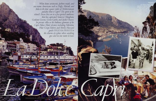 Article Preview: La Dolce Capri, May 2001 2001 | Vanity Fair