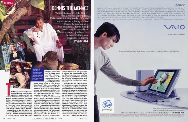 Article Preview: DENNIS THE MENACE, May 2001 2001 | Vanity Fair