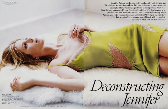 Article Preview: Deconstructing Jennifer, May 2001 2001 | Vanity Fair