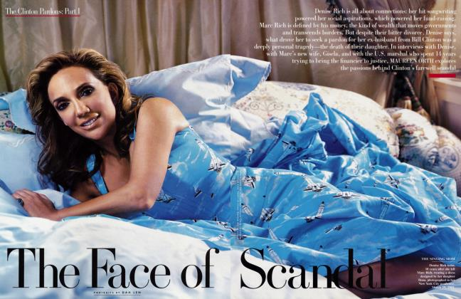Article Preview: The Face of Scandal, June 2001 2001 | Vanity Fair