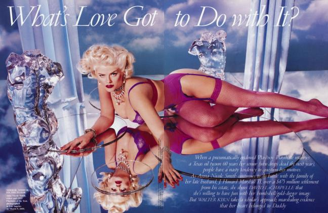 Article Preview: What's Love Got to Do with It?, June 2001 2001 | Vanity Fair