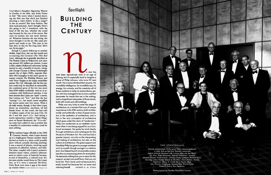 BUILDING THE CENTURY