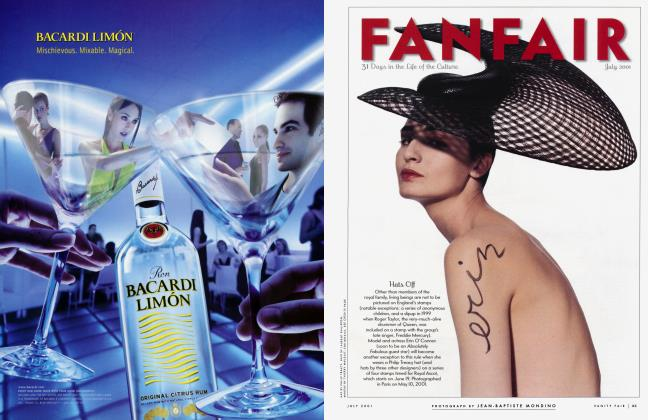 Article Preview: FANFAIR, JULY 2001 2001 | Vanity Fair