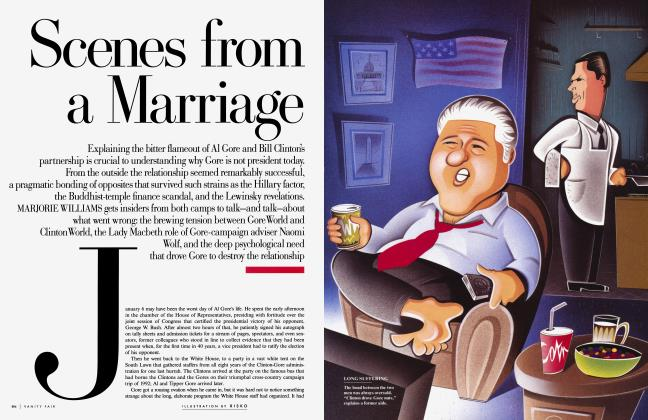 Article Preview: Scenes from a Marriage, JULY 2001 2001 | Vanity Fair