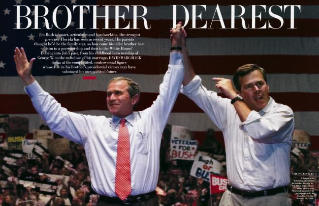 Article Preview: BROTHER DEAREST, July 2001 | Vanity Fair