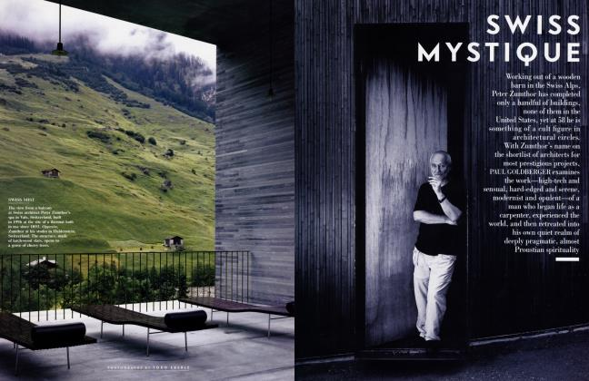 Article Preview: SWISS MYSTIQUE, JULY 2001 2001 | Vanity Fair
