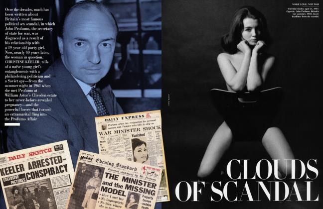 Article Preview: CLOUDS OF SCANDAL, July 2001 | Vanity Fair