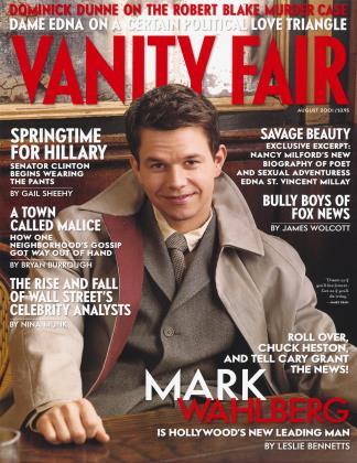 August 2001 | Vanity Fair