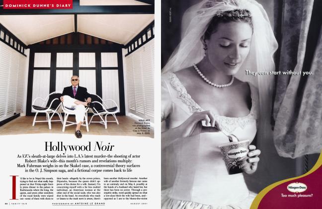 Article Preview: Hollywood Noir, August 2001 | Vanity Fair