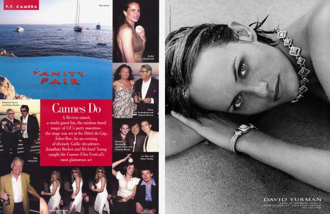 Article Preview: Cannes Do, August 2001 2001 | Vanity Fair