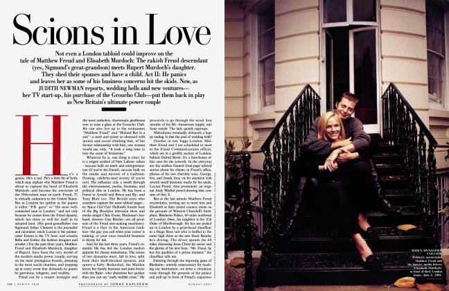 Article Preview: Scions in Love, August 2001 2001 | Vanity Fair