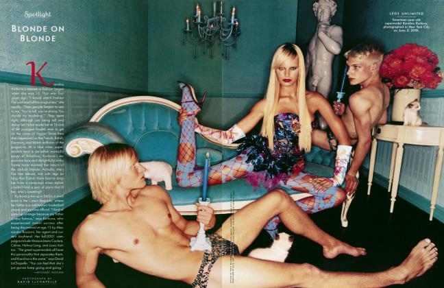 Article Preview: BLONDE ON BLONDE, August 2001 2001 | Vanity Fair