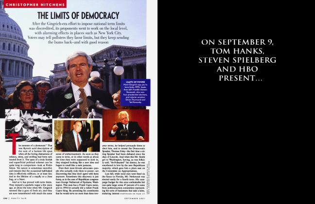 Article Preview: THE LIMITS OF DEMOCRACY, September 2001 2001 | Vanity Fair