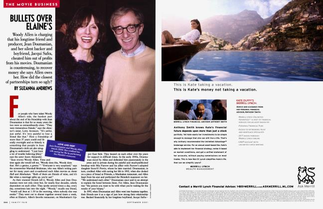 Article Preview: BULLETS OVER ELAINE'S, September 2001 | Vanity Fair
