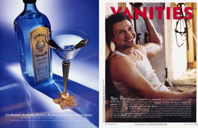 Article Preview: Marc Blucas, September 2001 2001 | Vanity Fair
