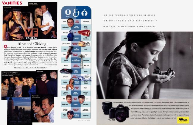 Article Preview: OUT & IN, September 2001 2001 | Vanity Fair