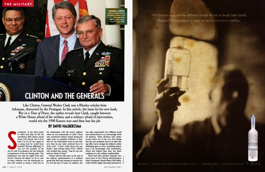 CLINTON AND THE GENERALS