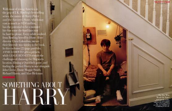 Something About Harry - October | Vanity Fair