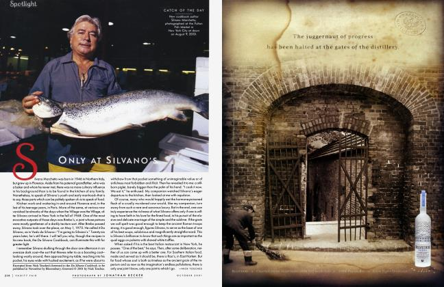 Article Preview: ONLY AT SILVANO'S, October 2001 2001 | Vanity Fair