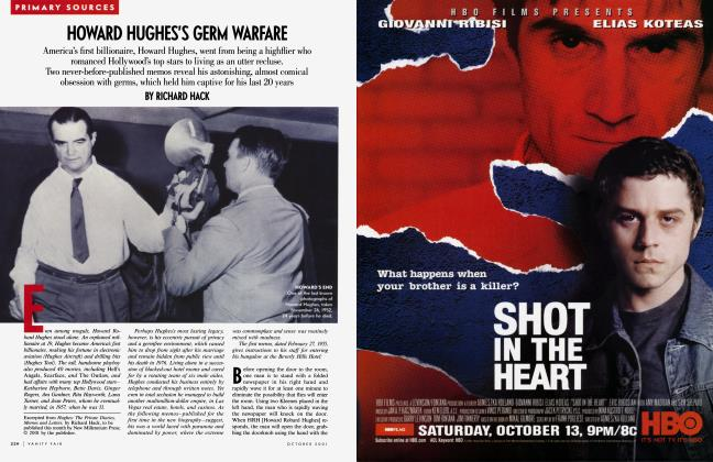 Article Preview: HOWARD HUGHES'S GERM WARFARE, October 2001 2001 | Vanity Fair