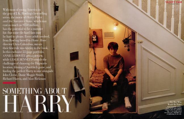 Article Preview: SOMETHING ABOUT HARRY, October 2001 2001 | Vanity Fair