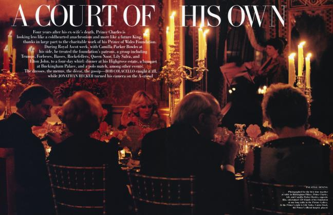 Article Preview: A COURT OF HIS OWN, October 2001 2001 | Vanity Fair
