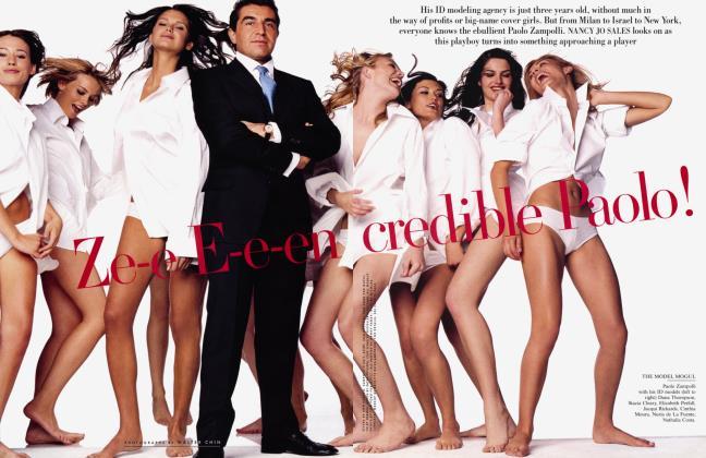 Article Preview: Ze-e E-e-en credible Palo!, October 2001 2001 | Vanity Fair