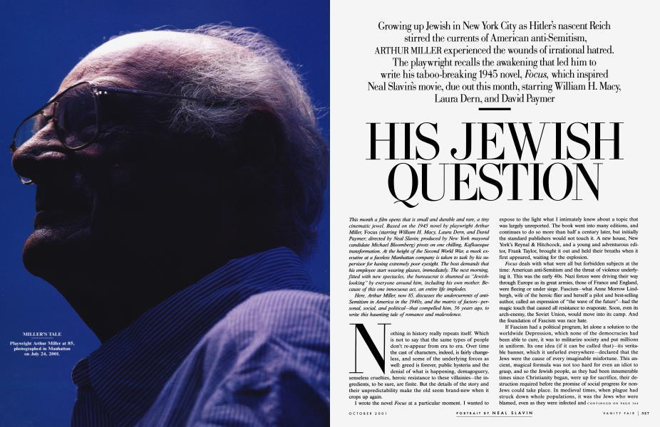 HIS JEWISH QUESTION